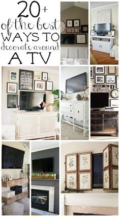 Living Room Wall Decor Around Tv Tv Stands. Beautiful Living Room Wall Decor Around Tv Tv Stands. How to Decorate Around A Tv Living Room Tv, Home And Living, Living Room Decor Around Tv, Decorating A Large Wall In Living Room, Tv Wall Ideas Living Room, Small Living, Modern Living, Tv Wanddekor, Tv Wall Decor