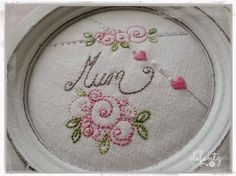 FREE Mother's Day stitchery...