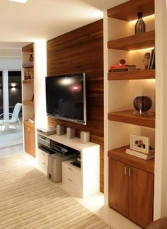 TV Stand Unit Cabinet Ideas Latest 2020 - House Designs Tv Stand Designs, Tv Stand Unit, Living Room Design Modern, Wall Unit Designs, Modern Tv Unit Designs, Living Room Design Decor, Tv Wall Design, Tv Room Design, Tv Showcase Design