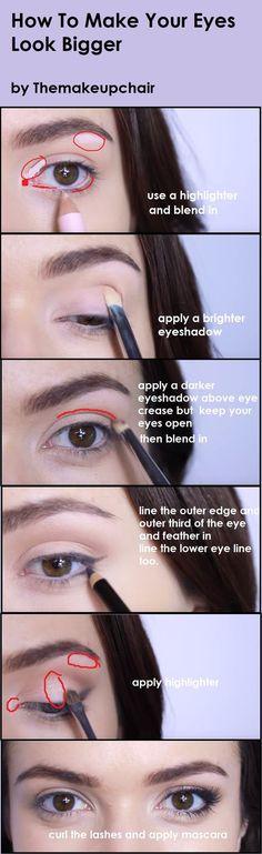 24 trendy makeup tutorial ojos eyeliner make up Eyeliner Make-up, Eyeliner For Big Eyes, Eyeliner Hacks, Hooded Eyes Eyeliner, Eyebrows, Beauty Make-up, Beauty Secrets, Beauty Hacks, Beauty Tips