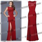 New Women Lace Long Evening Wedding Cut Out Bodycon Cocktail Party Sexy Dresses