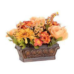 Amber Rose & Hydrangea Arrangement | Kirklands