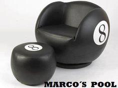 8 Ball Chair Pool | Billiards | Snooker