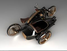 Steampunk Motorcycles Make You Long For The Open Cobblestone Road