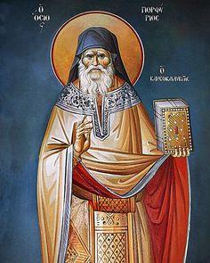 Saint Porphyrios of Kafsokalivia Icon