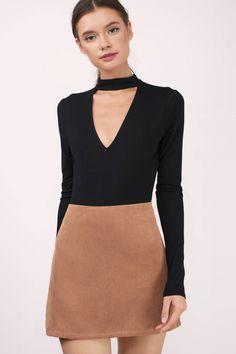 Karen Corduroy Skirt at Tobi.com #shoptobi