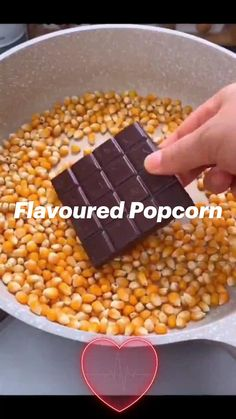 Flavored Popcorn, Popcorn Recipes, Cereal, Vegetables, Chocolate Popcorn, Breakfast, Healthy Snacks, Tooth, Delish