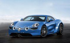 2016 renault alpine blue franch concept pics