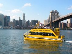 NY Water Taxi Hop On- Hop Off ticket is an awesome way to get to some of the city's top attractions, including the 9/11 memorial. Can be combined with a bike ride across the Bklyn Bridge.