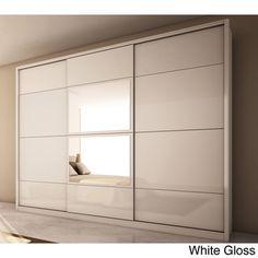 Manhattan Comfort 'Noho' 3-door Wardrobe | Overstock.com Shopping - Big Discounts on Armoires