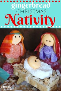 Easy and Adorable GINGERBREAD NATIVITY + the BEST Gingerbread and royal icing recipes - It is Christmas season and we love to start off the month with a making a family gingerbread house. Gingerbread House Designs, Christmas Gingerbread House, Christmas Nativity, Christmas Crafts, Gingerbread Houses, Christmas Activities, Christmas Projects, Christmas Ideas, Christmas Christmas