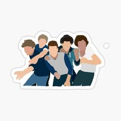 One Direction Merch, One Direction Drawings, One Direction Posters, One Direction Pictures, I Love One Direction, Direction Quotes, Tumblr Stickers, Cool Stickers, Printable Stickers