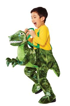 Caution, this dinosaur Halloween costume may cause pure joy for your little boy or girl! Toddler Dinosaur Costume, Dinosaur Halloween Costume, Girl Dinosaur, Halloween Costumes For Kids, Halloween Customs, Halloween Dress, Halloween Crafts, Halloween Makeup, Halloween Party
