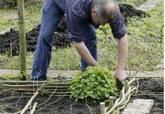 Vision on living: Tuin in mooie vakjes !