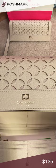 New Kate Spade Clutch/wallet New Kate Spade Clutch/Wallet kate spade Bags Clutches & Wristlets