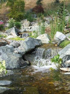 Mountain Streams - a pondless system for Donovan's - by Aquascape by Blue Creek, via Flickr  http://www.flickr.com/photos/aquascapebybluecreek/3710836793/in/set-72157620961050608/#