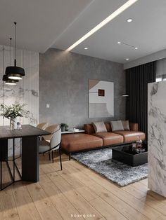 3D Interior Apartment 31 Scene File 3dsmax By Hoang Son Free Download Living Room 3d Design, Living Room Grey, Small Living Rooms, Modern Small Apartment Design, Small Apartment Interior, Interior Design Living Room, 3d Interior Design, Modelos 3d, Lounge Decor