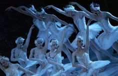 Ballerinas of the Bolshoi Theatre and the State Classic Ballet Theatre of Russia dance during a performance of Tchaikovsky's 'Swan Lake' at the Mediterranean Conference Centre in Valletta, April 19, 2007.  REUTERS-Darrin Zammit Lupi