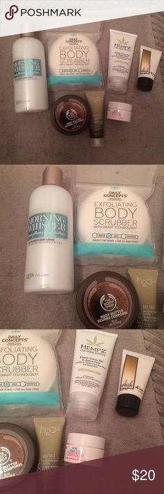 NEW ULTA BATH AND BODY SET! All NEW and NEVER USED ULTA bath and body set! Full and travel size items. Great products!  NO TRADES! Sephora Accessories