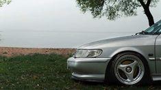 Stanced Saab 900NG Talladega http://www.saabplanet.com/stanced-saab-900ng-talladega/