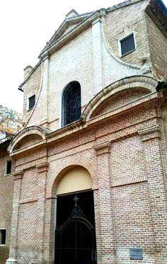 Iglesia Convento de las Facetas de Zaragoza España.