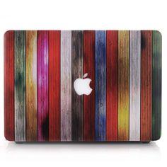 Coque MacBook Pro 15 Touch Bar Design Bois - Style C