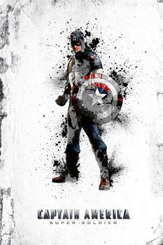 Breaking Out! by Carl Bannister, via Behance | Captain America