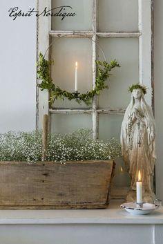 French Nordic Christmas Decor Ideas