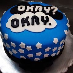 """The Fault in Our Stars"" Cake"