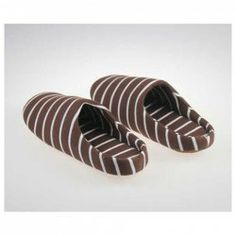 $6.92 Popular Style Concise and Fashion Design Two-Tone Stripe Patterns Comfortable Cotton Slippers For Lovers