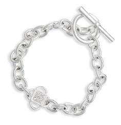 Clover Chain Bracelet #michefashion #fashion #jewelry