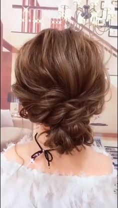 Curly Updos For Medium Hair, Thick Hair Updo, Short Curly Hair Updo, Medium Hair Braids, Medium Thin Hair, Hair Tutorials For Medium Hair, Easy Updos For Medium Hair, Thick Hair Styles Medium, Short Hairstyles For Thick Hair