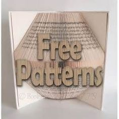 Bookami Book Folding Patterns / Templates - Free Book Folding Patterns