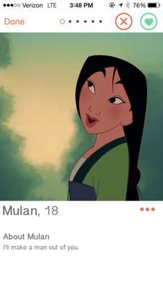 If Disney Princesses Had Dating Profiles
