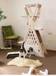 Resultado de imagen de diy cat tree
