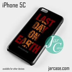 The walking dead Negan Last Day On Earth Phone case for iPhone 5C and other iPhone devices