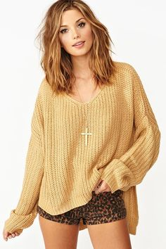 Cambridge Knit in Camel