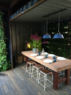 1000 Images About Outdoor Room On Pinterest Shipping Containers Flat Roof