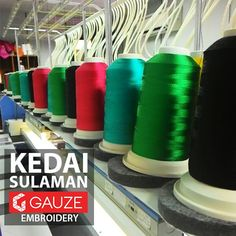 Embroidery services Nilai, Negeri Sembilan  Tel : 013 633 1227