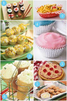April Fools ideas - I love number 4 for dinner! :)