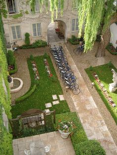 Hotel Le Cep - Beaune, Burgundy, France. LOVED this hotel.
