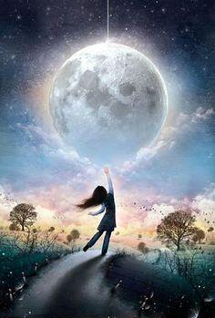 Ando aquí, donde la luna lunera brilla en el cielo con luz de diamantes arropaíta por estrellas #flamencoBarrio❤