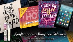 A #Kindle Fire, 6 Free Months of #KindleUnlimited, & Some Contemporary #Romance Swag!