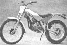 Kramer de trial, motor Minarelli 50cc. Foto, Xavidu para Amoticos.org
