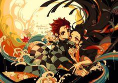 kimetsu no yaiba Manga Anime, Anime Demon, Anime Art, Demon Slayer, Slayer Anime, Animé Fan Art, Pokemon, Dark Fantasy, Otaku
