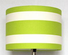 Groen wit lampenkap limoengroen grasgroen helder door kleurstudio