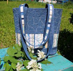 Лоскутный дневник: Джинсовые сумки и рюкзаки. Использование кромок тк...