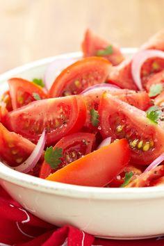 Chilean Tomato & Onion Salad #Recipe