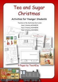 Book Activity for Tea and Sugar Christmas (Lower Primary)