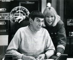 Leonard Nimoy and Grace Lee Whitney. Rest in peace to both of them, both passed away this year, 2015....